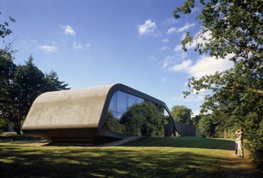 Projekt: Erweiterung Ordrupgaard Museum Architekt: Zaha Hadid